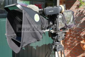 ProPrompter iPad based Prompter kit. Used. With case.
