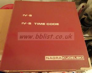 Hard-bound Nagra IV-S manual