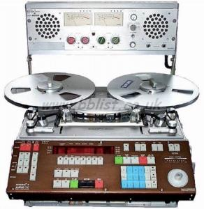 Nagra T Audio / TI reel to reel tape machines