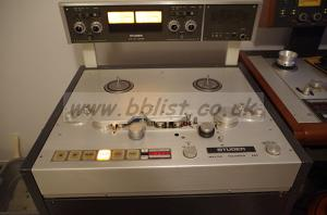 Studer A80RC / A820 / A812 / A810 two-track master recorders