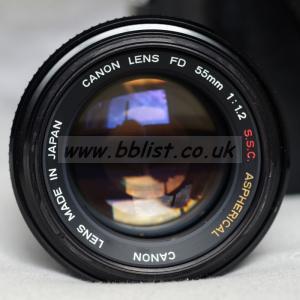 Canon FD 55mm f/1.2 S.S.C. ASPHERICAL