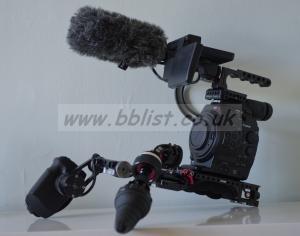 Canon C300 EF shoulder mount kit
