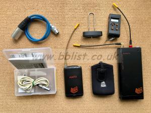 Audio Ltd Ch38 radio channel with Mini tx & Sanken Cos 11