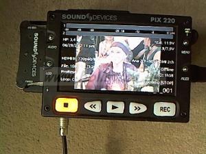 Sound Devices PIX 220 HDMI recorder kit.