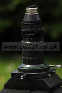 Canon Super 16mm lens 8-64mm T2.4