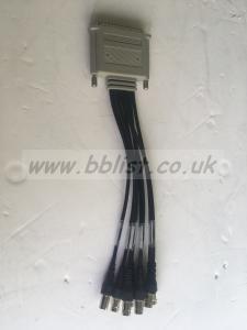 Matrox XMIO2/VID/CBL SDI breakout cable to female BNC