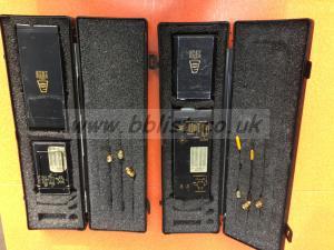 2 x Audio Ltd 2020 radio transmitter/receivers Ch69