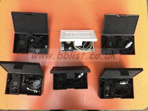 4 x Tram TR50 lavalier mics
