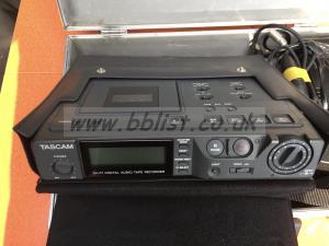 Tascam DA-P1 portable DAT recorder