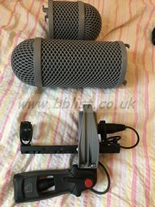 Rode NTG 3 with Rycote blimp