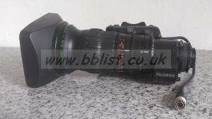 Fujinon A13x6.3BERM-SD + Extender  B4 2/3 Wide Angle Lens