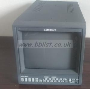 Barco ADVM-10 10inch CRT SDI/Composite  Video Monitor