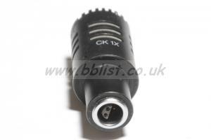AKG CK1x black capsule (fits 460 cable system)
