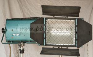 Pair of Berkey Technical 1250 watt floods