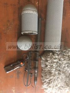 Neumann kmr 82 with rycote windshield and fur