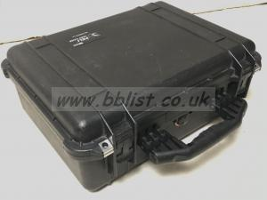 Pelicase 1520 Black with removable Inner foam and padding