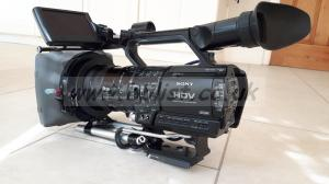 Complete video shooting kit with Sony HVR Z1E