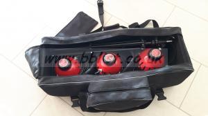 Red Head Lighting kit in bag