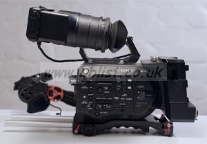 Sony PXW-FS7 including XDCA unit and Vocas Shoulder Rig