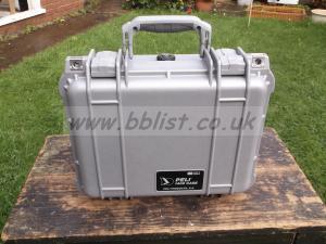 Peli 1400 Case in Silver With Foam