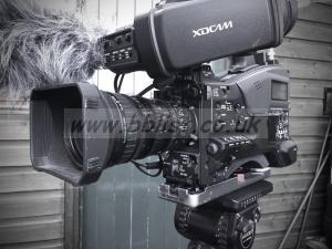 Sony PMW-400k Camera Kit. Slot in Sony Radio Mic Reciever
