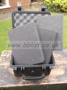 Peli 1300 Case - Very lightly used - new foam.