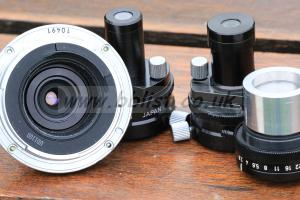 Canon Duplicator - two lens magnify 16mm & 8mm frames