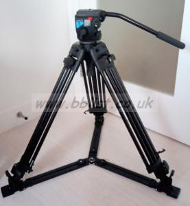Vinten protouch tripod pt525V/NA30 with head