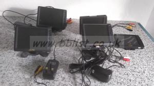 Lot of 5x LCD lilliput TFT Video Monitors