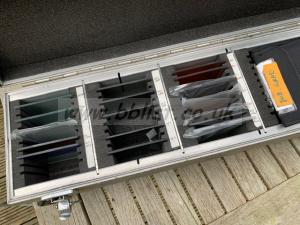 Filter box containing 16 4x4 Tiffen filters