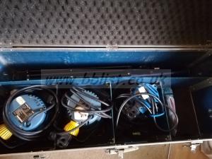 Arrilite lighting kit 1 300w fresnel & 2 800w redheads cased