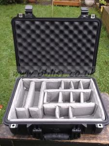 Peli 1500 Case With Divider Set