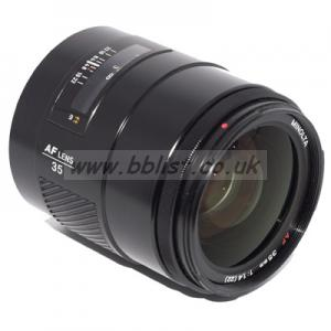 Minolta / Sony AF 35mm f1.4 Lens