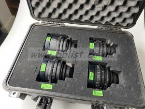 Contax Zeiss Standard Speed Lens Set