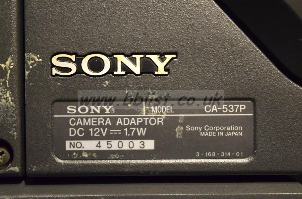 Sony DXC-637P Camera Sony DXC-637P Camera