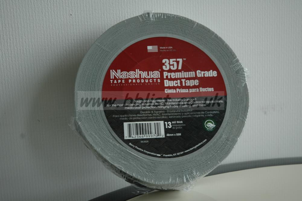 Nashua White 357 Duct Tape