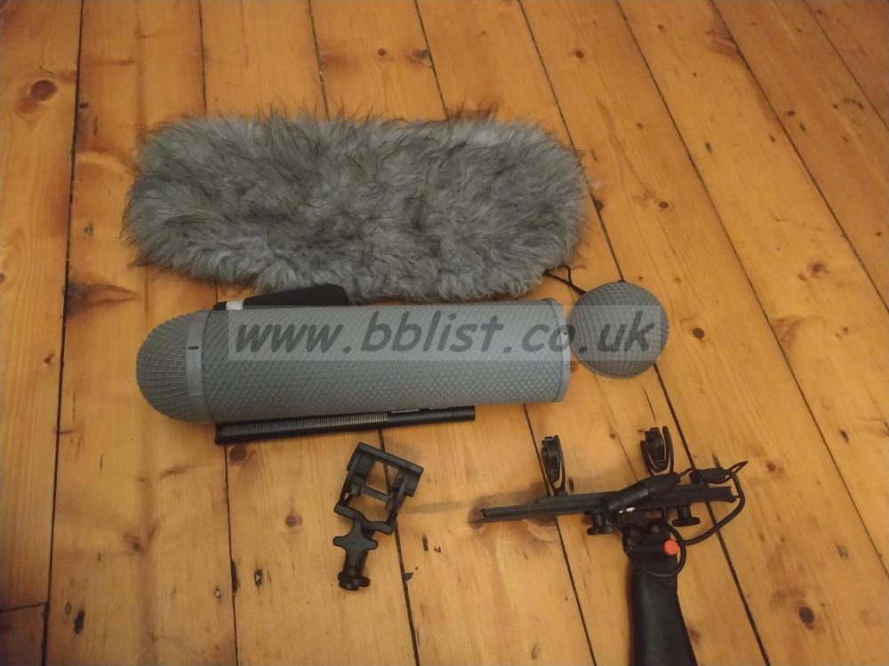 Sennheiser 416 with Rycote basket and extras Sennheiser 416 with Rycote basket and extras