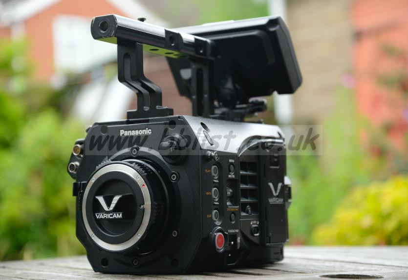 Panasonic Varicam Body Kit with EXTRAS Camera body kit as you will receive it.