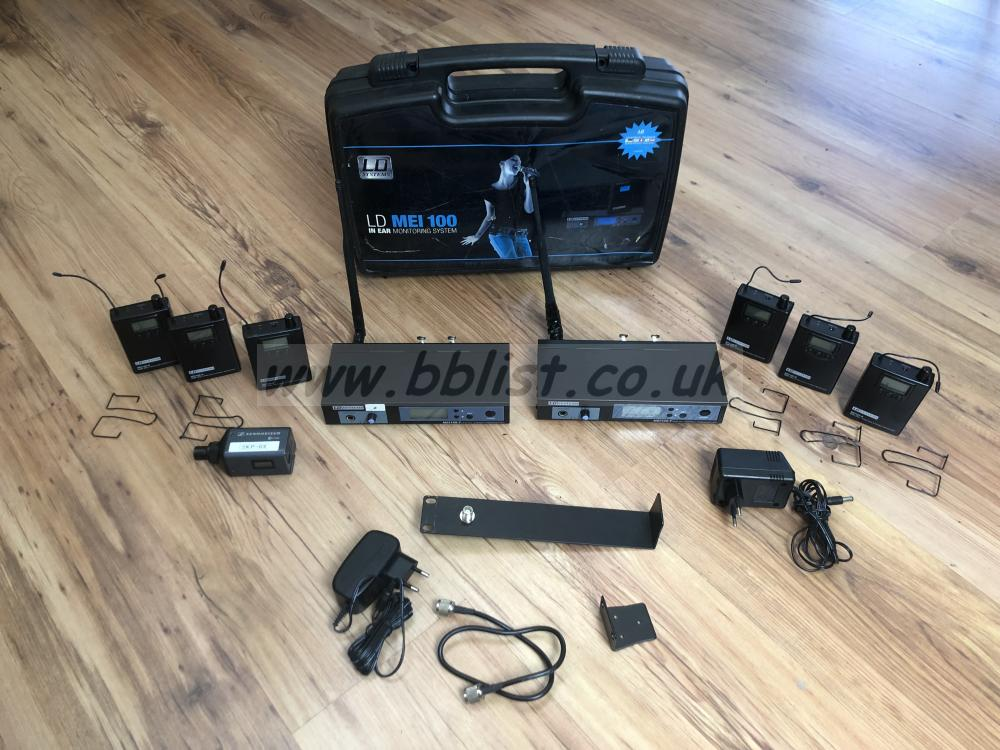 LD Systems MEI 100 in ear monitor system (790-814MHz)