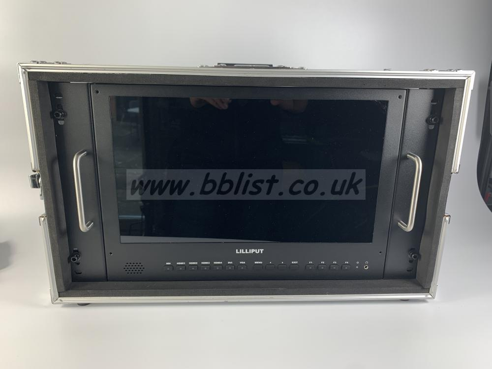 "Lilliput 15.6""4K Location Monitor in Metal Housing"
