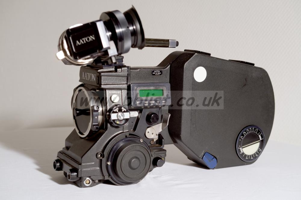 Seviced AATON XTR PROD Super 16 mm Camera Kit Aaton XTR Prod Serial C2172 in PL Mount.