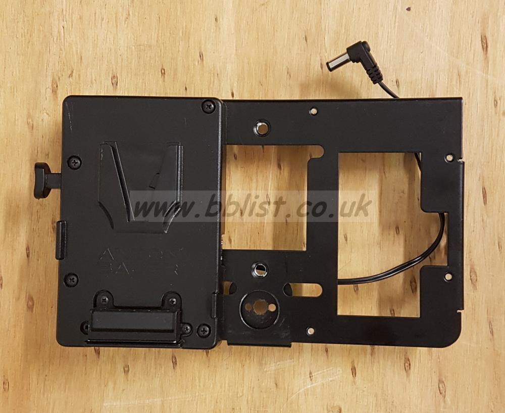 Anton Bauer battery plate for Small HD 702 video monitor
