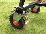Losmandy Porta-Jib Traveller Puncture-less wheels for outside use